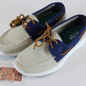 Sperry Top Sider Mens Shoes Sojourn Leather Oyster